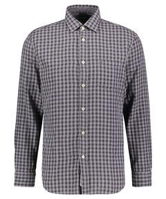 Herren Freizeithemd Double Layer Regular Fit Langarm