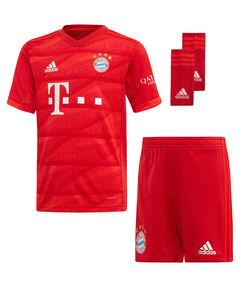 """Kinder Fußball-Set Trikot, Shorts und Socken """"FC Bayern München Mini-Heimausrüstung"""" - Replica"""