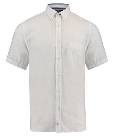 Marc O'Polo - Herren Leinenhemd Regular Fit Kurzarm