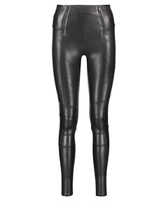 "Damen Leggings ""Zip Detail Faux Leather"""