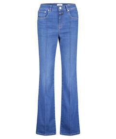 """Damen Jeans """"Leaf"""" Flared Slim Fit"""