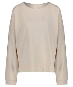 "Damen Loungewear Sweatshirt ""Fleece Sweater with Stitching""Langarm"