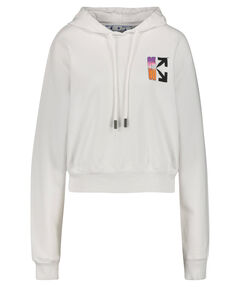 "Damen Sweatshirt ""Gradient Cropped Hoodie"" mit Kapuze"