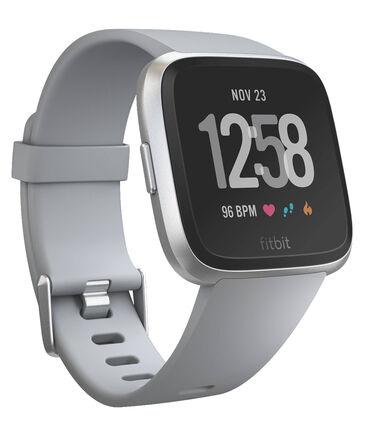 """Fitbit - Gesundheits- und Fitness-Smartwatch """"Versa"""" Grau/Aluminium-Silber"""