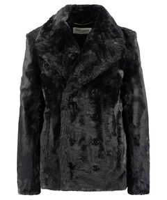 Damen Faux Fur Jacke
