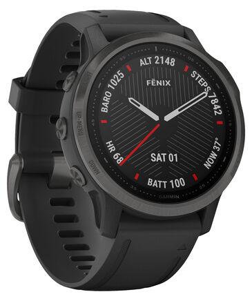 """Garmin - GPS-Multifunktionsuhr """"Fenix 6S Sapphire"""" Schwarz/Schiefergrau DLC"""