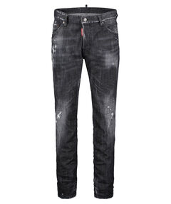 "Herren Jeans ""Cool Guy"" Long Crotch Tight Bottom"