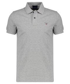 "Herren Poloshirt ""The Original Slim Pique Rugger"" Slim Fit Kurzam"