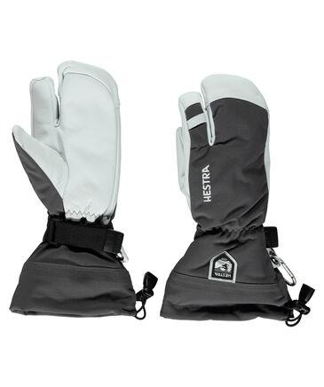 """Hestra - Herren Drei-Finger Skihandschuhe """"Army Leather Heli 3"""""""