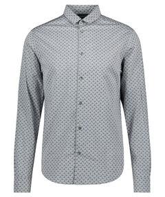 Herren Freizeithemd Custom Fit Langarm