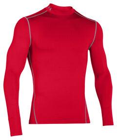 Herren Kompressions-Mock-Shirt UA ColdGear Armour