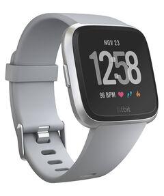 """Gesundheits- und Fitness-Smartwatch """"Versa"""" Grau/Aluminium-Silber"""