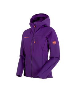 "Damen Softshell-Jacke ""Eisfeld Light"" mit Kapuze"