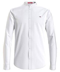 "Herren Hemd ""Mao Linen Blend Shirt"" Slim Fit Langarm"