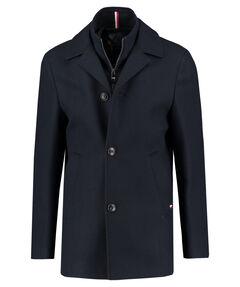 """Herren Mantel """"Wool Blend Coat With Bib"""""""