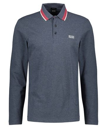 "BOSS - Herren Poloshirt ""Plisy"" Regular Fit Langarm"