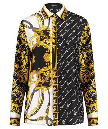 Versace - Damen Seidenbluse Langarm