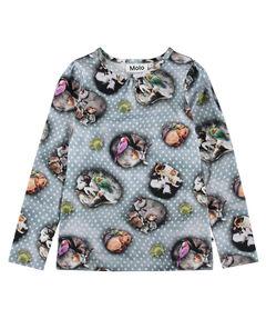 "Mädchen Shirt ""Rose"" Langarm"