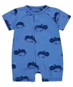 """Jungen Baby Overall """"Hippo"""" Kurzarm"""