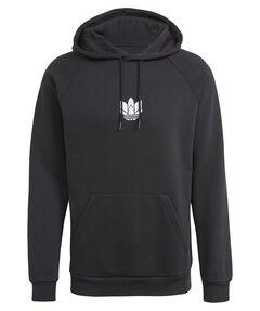 "Herren Loungewear-Sweatshirt mit Kapuze ""Loungewear Adicolor 3D Trefoil Graphic Hoodie"""