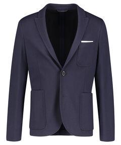 Herren Jersey-Sakko Slim Fit