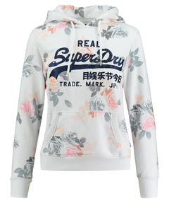"Damen Sweatshirt ""Vintage Logo Rose AOP Entry Hood"""