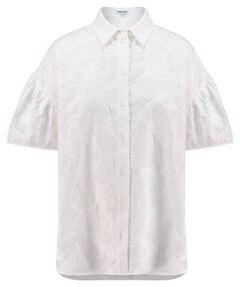 Damen Bluse Loose Fit Kurzarm