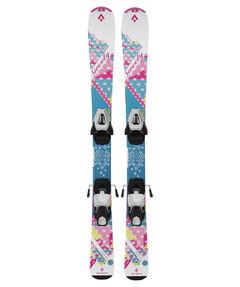"""Mädchen Skier """"Sweety"""" inkl. Bindung"""