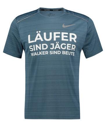 """Nike - Herren Laufshirt """"Läufer sind Jäger"""" Kurzarm"""