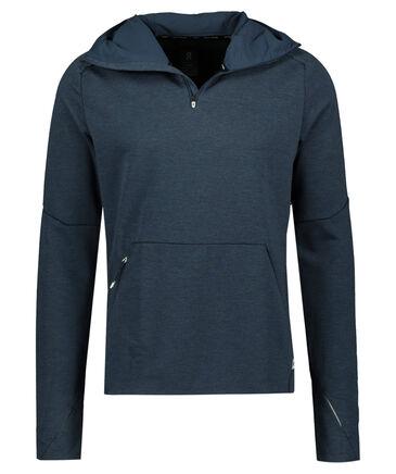 On - Herren Laufsport Sweatshirt mit Kapuze