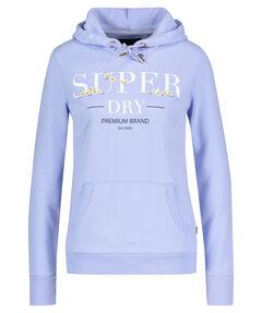 """Damen Sweatshirt mit Kapuze """"Serif Floral"""""""