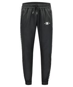 "Herren Trackpants Black ""Tape Logo Track Pants"""