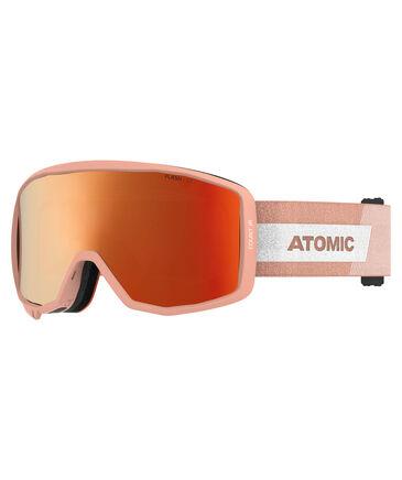 "Atomic - Kinder Skibrille ""Count JR Cylindrical"" Peach"