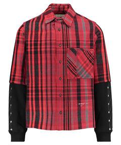 "Herren Flanellhemd ""Jersey Sleeve Shirt"""