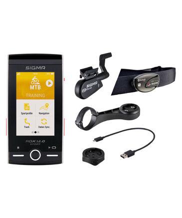 """Sigma - GPS Fahrrad-Computer """"ROX 12.0 SPORT Set - White"""""""