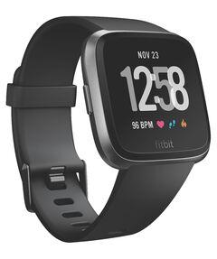 """Gesundheits- und Fitness-Smartwatch """"Versa"""" Black/Black Aluminum"""