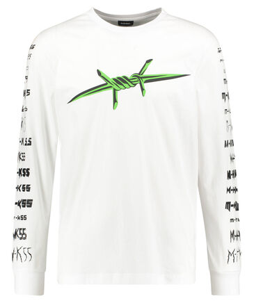 "Diesel - Herren Shirt ""T-JUST-LS-B2"" Langarm"
