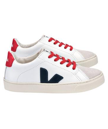"Veja - Kinder Sneaker ""Esplar Extra White Nautico Pekin"""