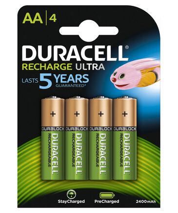 """Duracell - Batterien """"Recharge Ultra Akku AA"""" 4 Stück"""
