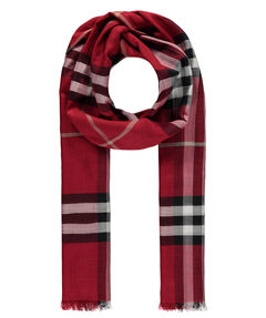 "Damen Schal ""Giant Check Wool/Silk Gauze Scarf"""
