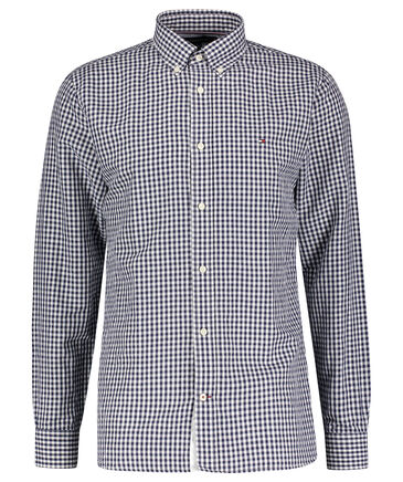 Tommy Hilfiger - Herren Hemd Regular Fit Langarm