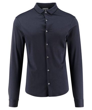 Emporio Armani - Herren Freizeithemd Slim Fit Langarm