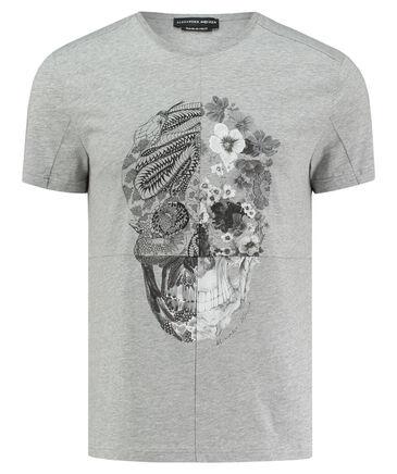 "Alexander McQueen - Herren T-Shirt ""Blumen Scull"""