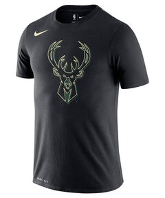 "Herren Basketball-Shirt ""Bucks Logo"""