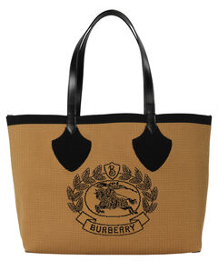 "Damen Shopper ""The Giant Jacquard Tote Black"""