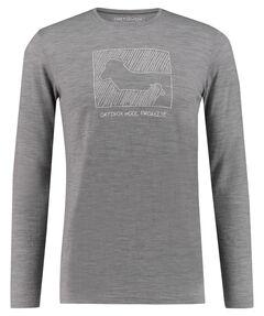 "Herren Shirt ""185 Merino Contrast M"" Langarm"