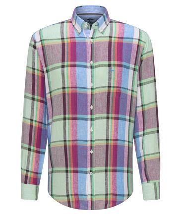 Fynch-Hatton - Herren Leinenhemd Regular Fit Langarm