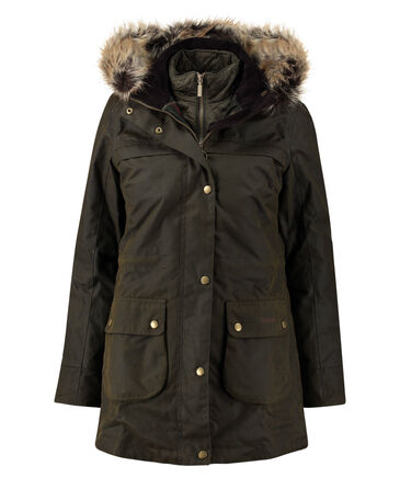"Barbour - Damen Parka ""Dartford Wax"""