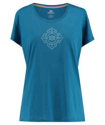"Sherpa - Damen Outdoor-Shirt ""Moksha Tee"" Kurzarm"