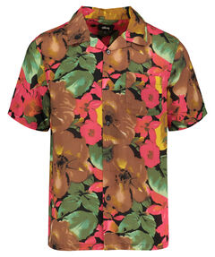"Herren Hemd ""Watercolor Flower Shirt"" Kurzarm"